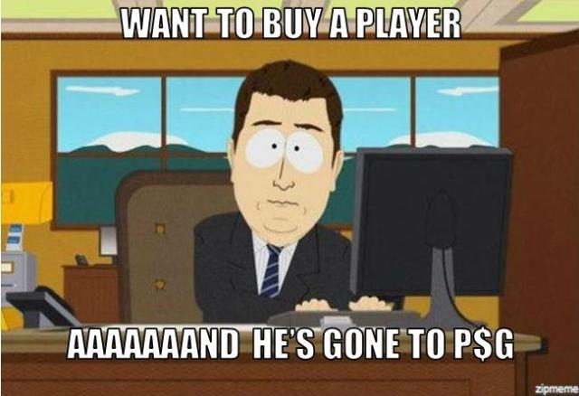 AAAAND HE'S GONE TO PSG !